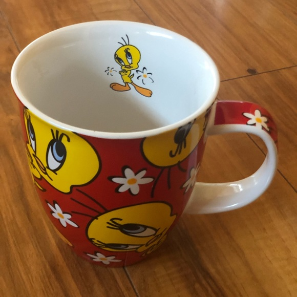 Warner Pie Bros Mug Tweety Tweetie Bird Studio Cup 5AqR34jL